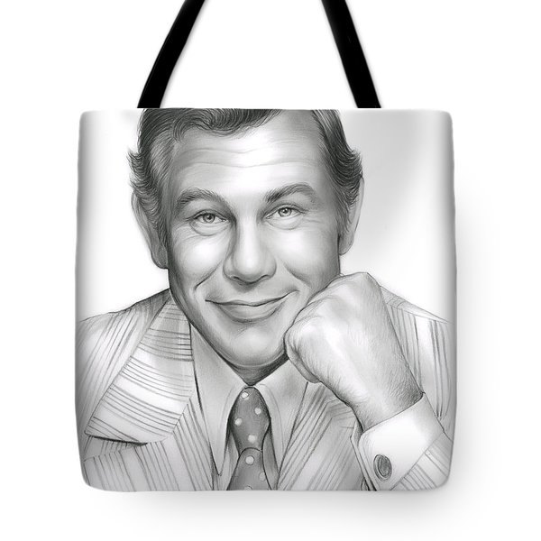 Johnny Carson Tote Bag