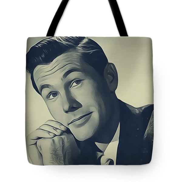 Johnny Carson, Vintage Entertainer Tote Bag