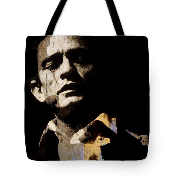 Johnny Cash - I Walk The Line  Tote Bag