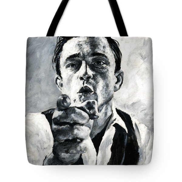 Johnny Cash II Tote Bag