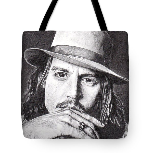 Johnny Depp Tote Bag