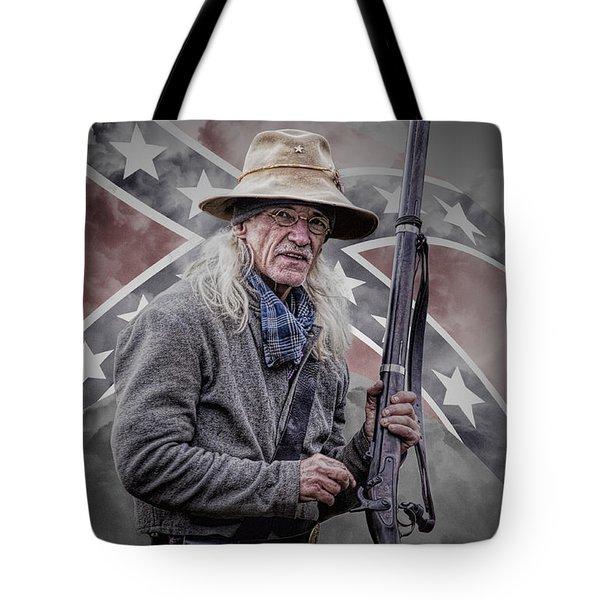 Johnny Reb Tote Bag