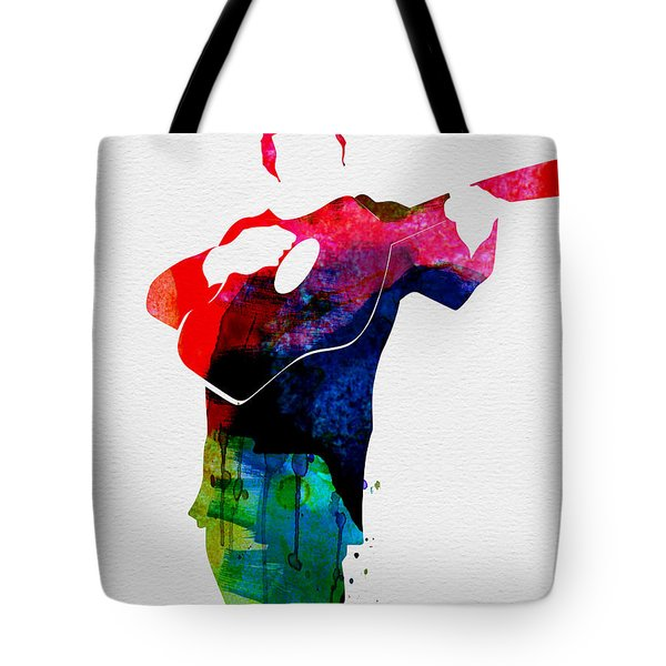 Johnny Watercolor Tote Bag