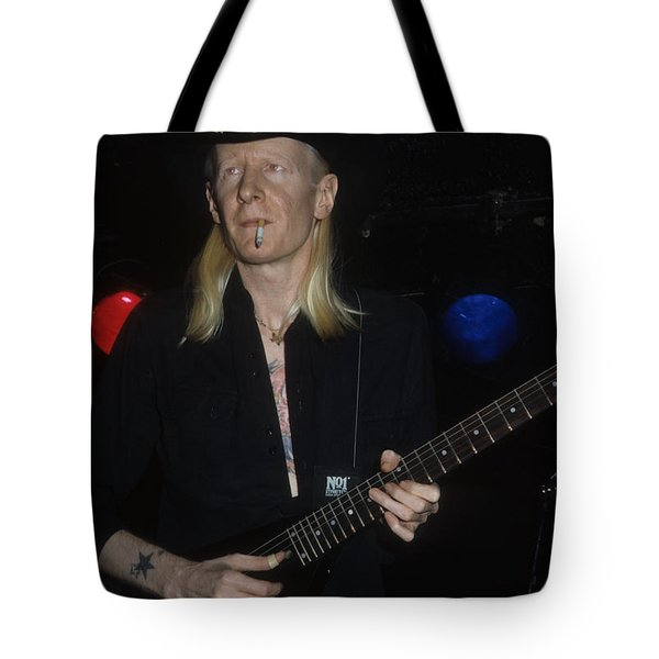 Johnny Winter Tote Bag