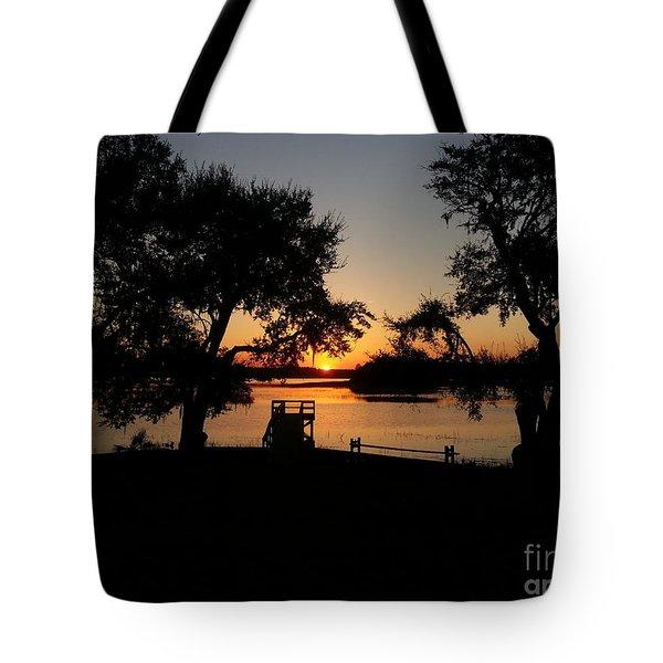 Johns Island Sunset Tote Bag