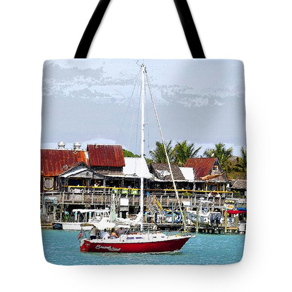 Johns Pass Florida Tote Bag by David Lee Thompson