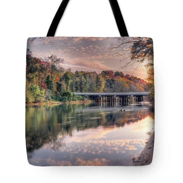 Johnson Ferry Bridge Tote Bag