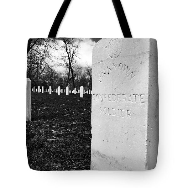 Johnson Island Confederate Stockade Cemetery Tote Bag