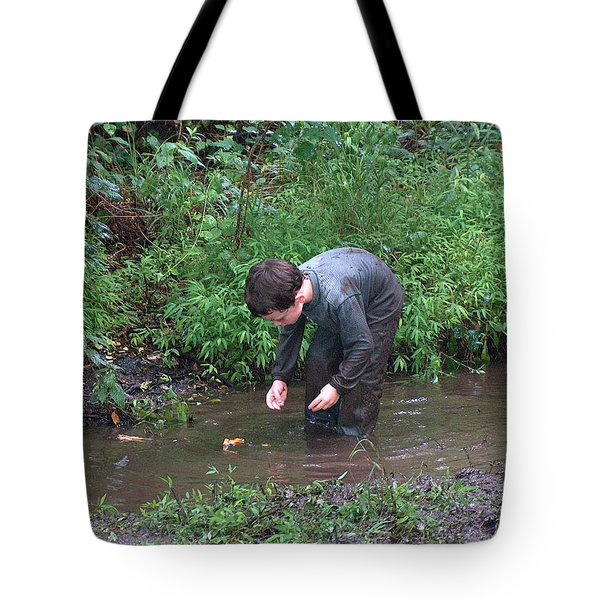 Johnston Counties Own Huckleberry Finn Tote Bag by Lisa Stanley