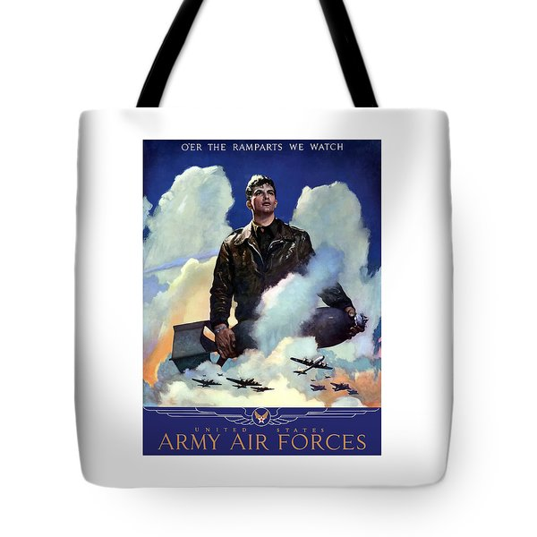 Join The Army Air Forces Tote Bag by War Is Hell Store