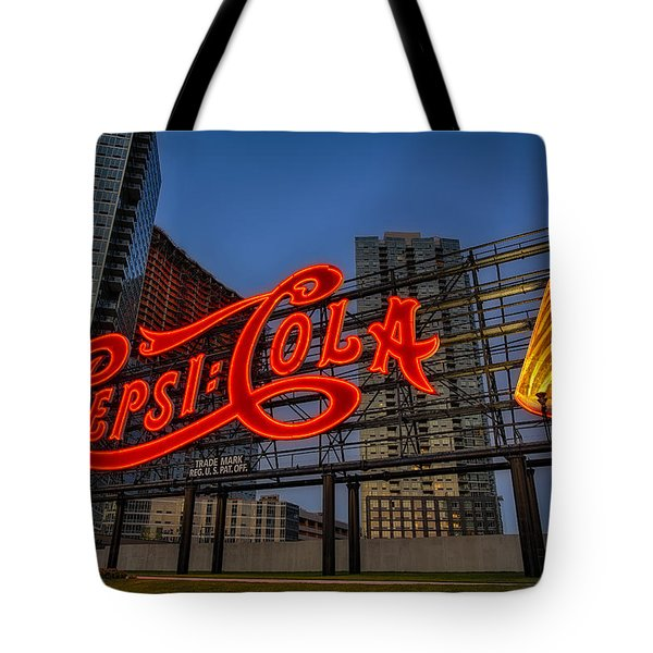 Join The Pepsi Generation Tote Bag by Susan Candelario