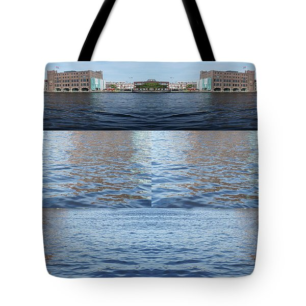 Tote Bag featuring the photograph Joiner Sea by Ana Mireles
