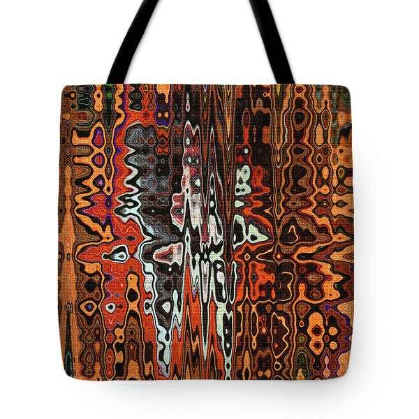 Jojo Abstract Tote Bag by Tom Janca