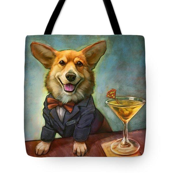 Jojo's Supertini Tote Bag