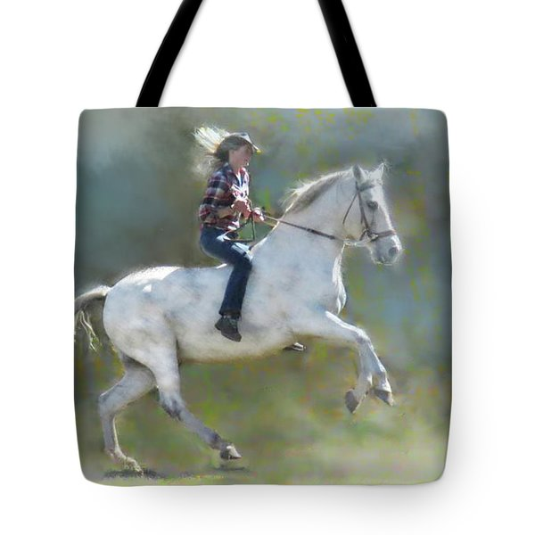Joker And The Ranch Hand Tote Bag
