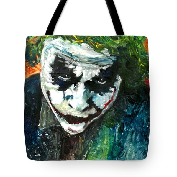 Joker - Heath Ledger Tote Bag