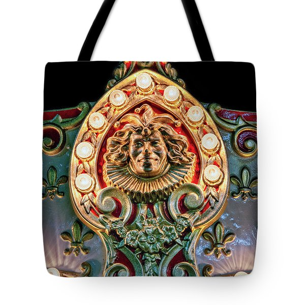 Tote Bag featuring the photograph Joker Of The Carnival by Christopher Holmes