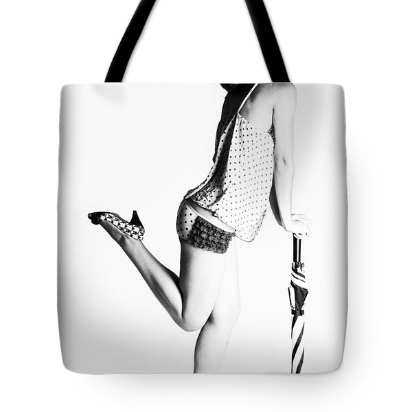 Jolley Pinup Tote Bag