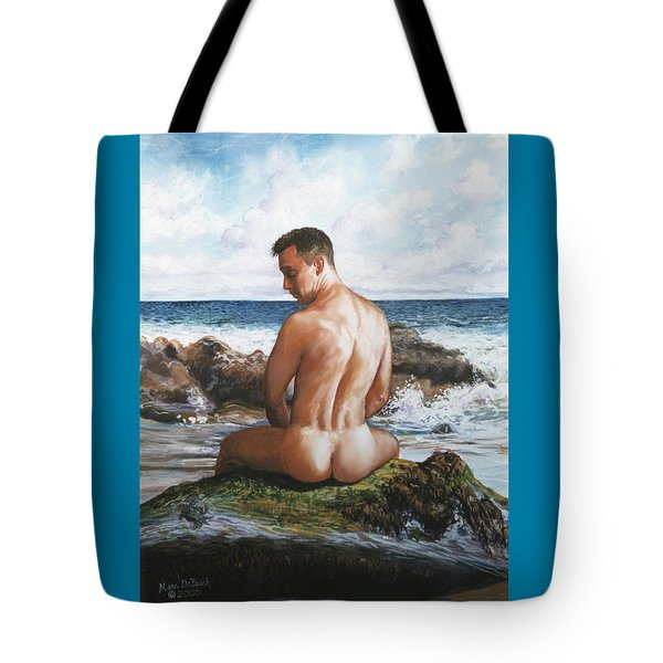Jon At The Beach  Tote Bag