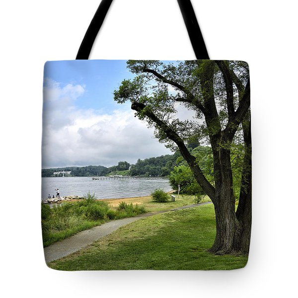 Jonas Green State Park - Annapolis Maryland Tote Bag by Brendan Reals