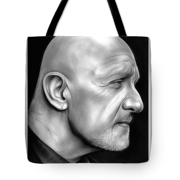 Jonathan Banks Tote Bag by Greg Joens