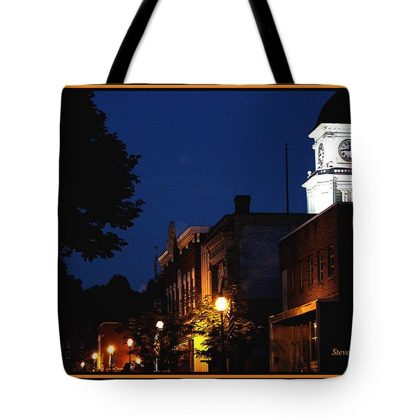 Tote Bag featuring the photograph Joneborough Tennessee 11 by Steven Lebron Langston