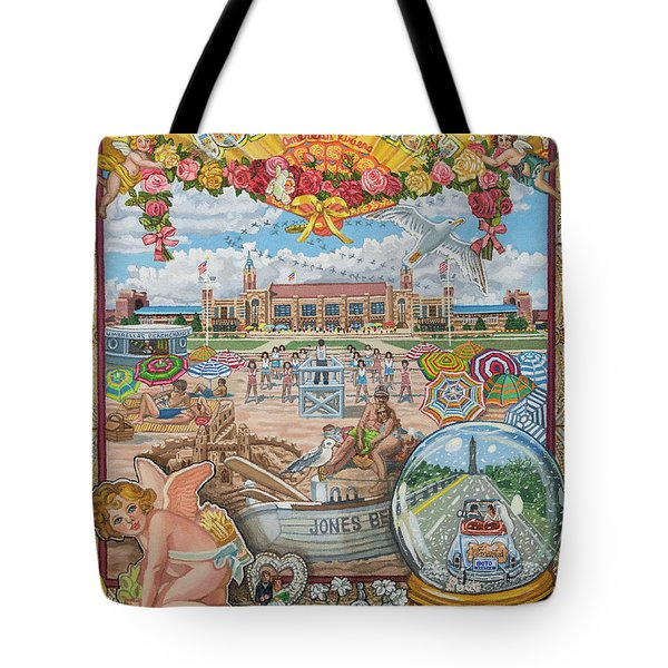 Jones Beach Love Story Tote Bag