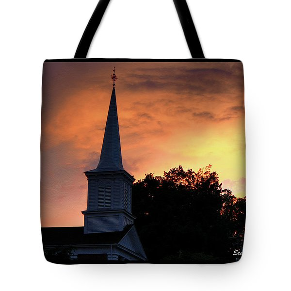 Tote Bag featuring the photograph Jonesborough Morn by Steven Lebron Langston