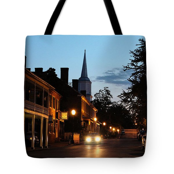 Tote Bag featuring the photograph Jonesborough Tennessee 10 by Steven Lebron Langston
