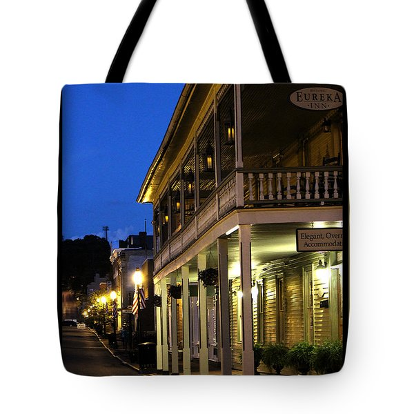 Tote Bag featuring the painting Jonesborough Tennessee 12 by Steven Lebron Langston