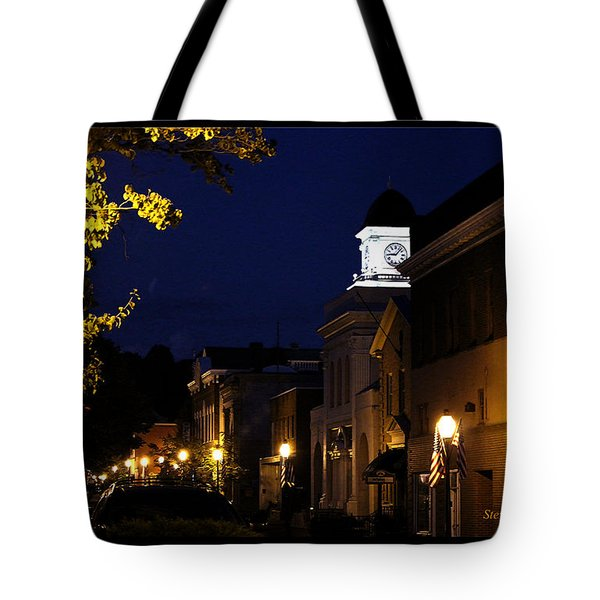 Tote Bag featuring the photograph Jonesborough Tennessee 13 by Steven Lebron Langston