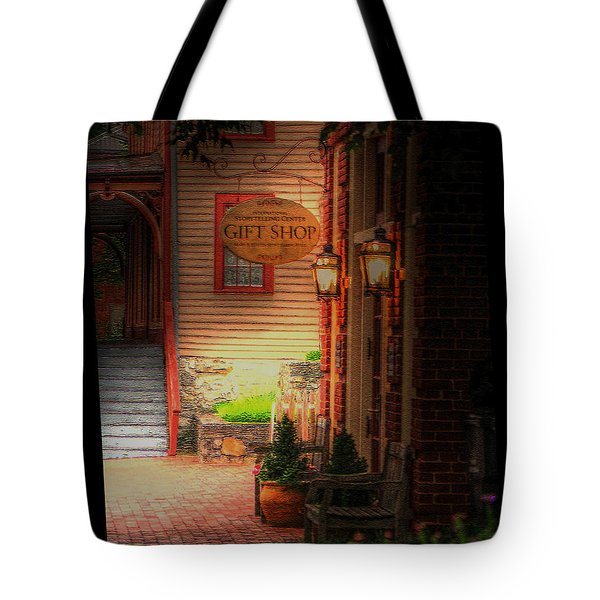Tote Bag featuring the photograph Jonesborough Tennessee 2 by Steven Lebron Langston