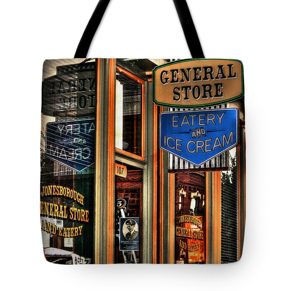 Tote Bag featuring the photograph Jonesborough Tennessee 3 by Steven Lebron Langston