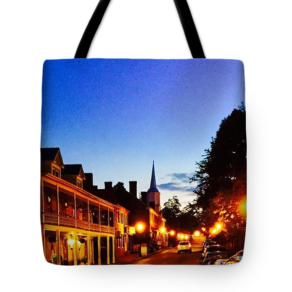 Tote Bag featuring the photograph Jonesborough Tennessee 4 by Steven Lebron Langston