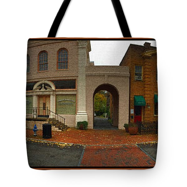Tote Bag featuring the photograph Jonesborough Tennessee 6 by Steven Lebron Langston