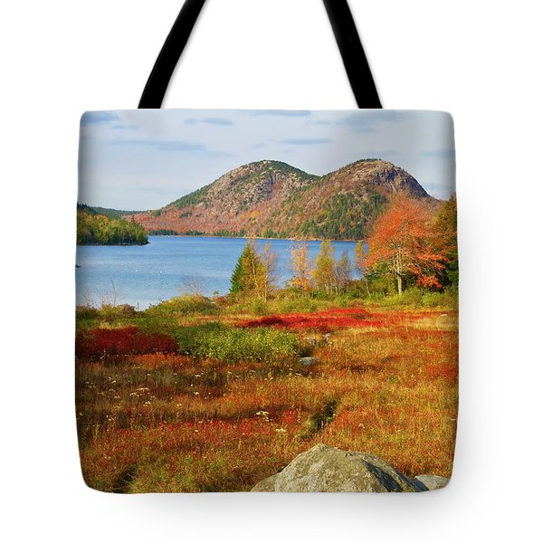 Jordan Pond 2 Tote Bag