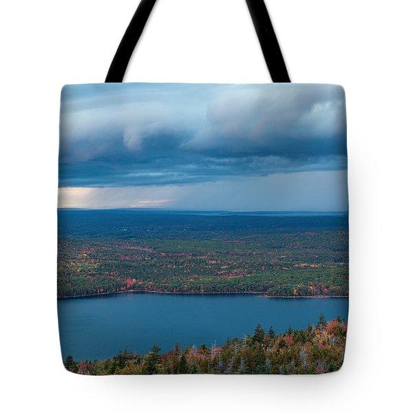 Jordan Pond Tote Bag by Sharon Seaward