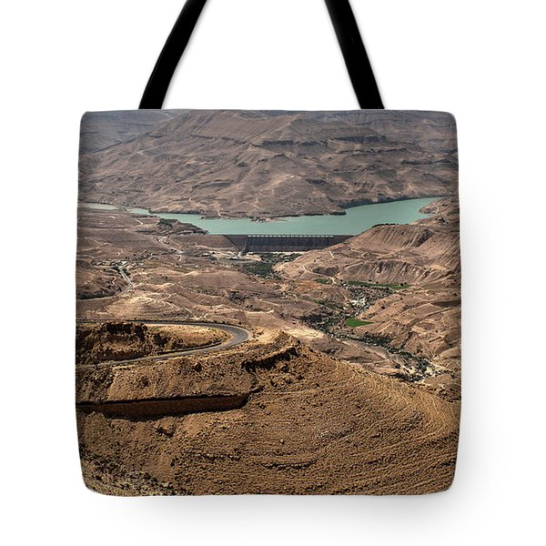 Tote Bag featuring the photograph Jordan River by Mae Wertz