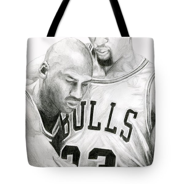 Jordan Will To Win Tote Bag
