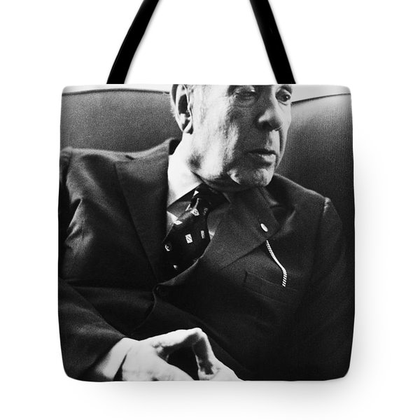 Jorge Luis Borges (1899-1986) Tote Bag by Granger