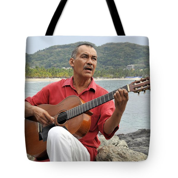Tote Bag featuring the photograph Jose Luis Cobo by Jim Walls PhotoArtist
