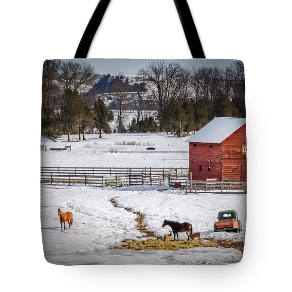 Tote Bag featuring the photograph Joseph Oregon by Cat Connor