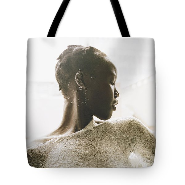 Tote Bag featuring the photograph Josephine by Rebecca Harman
