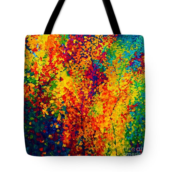 Joseph's Coat Trees Tote Bag