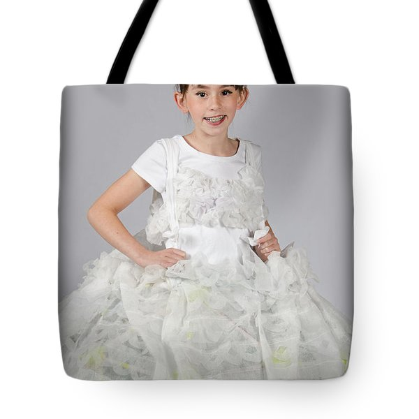 Josette In Dryer Sheet Dress Tote Bag
