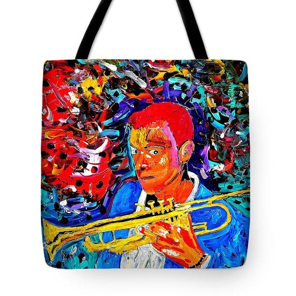 Joshua Bluegreen-cripps Tote Bag