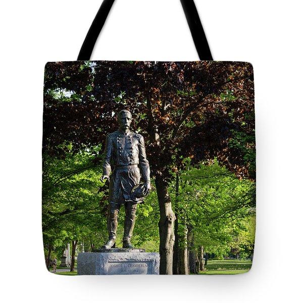 Joshua Lawrence Chamberlain, Bowdoin College Campus  #0025 Tote Bag