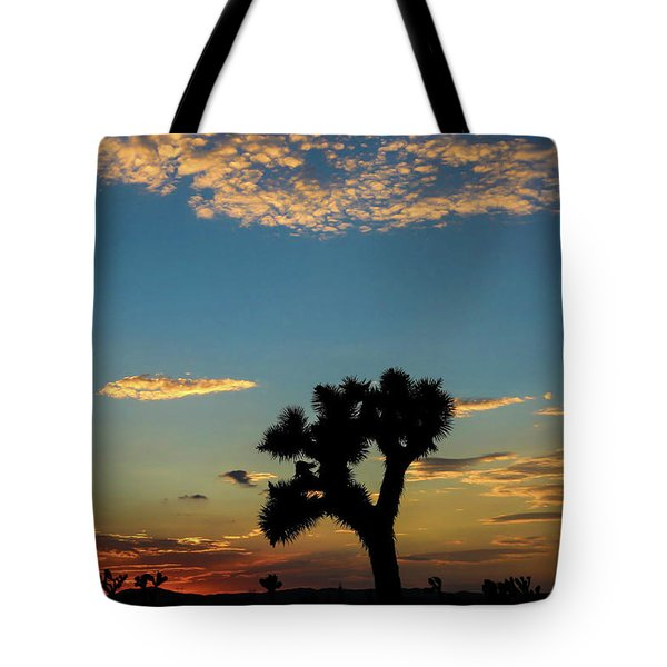 Joshua Sunset Tote Bag