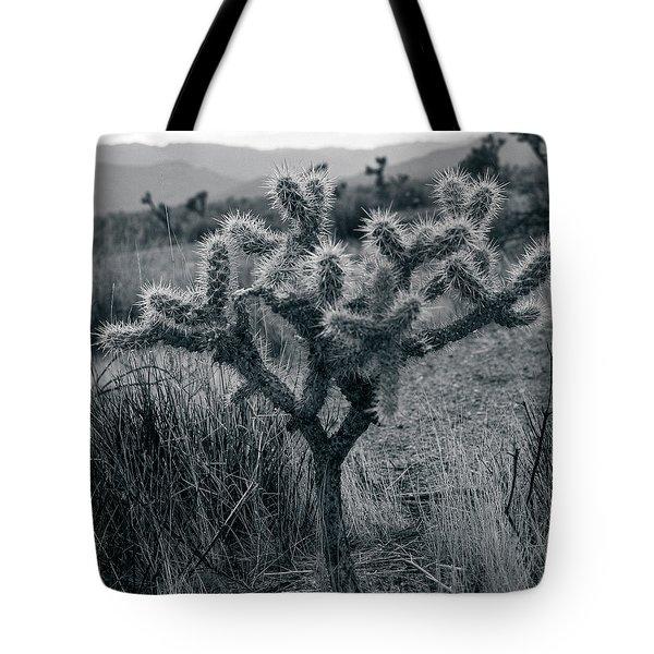 Joshua Tree Cactus Tote Bag