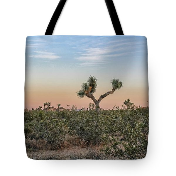 Joshua Tree Evening Tote Bag
